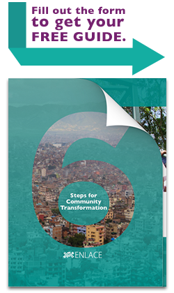 Fill out the form to get your copy of 6 Steps for Community Transformation!